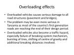 overloading effects