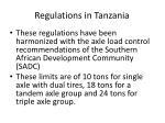 regulations in tanzania1