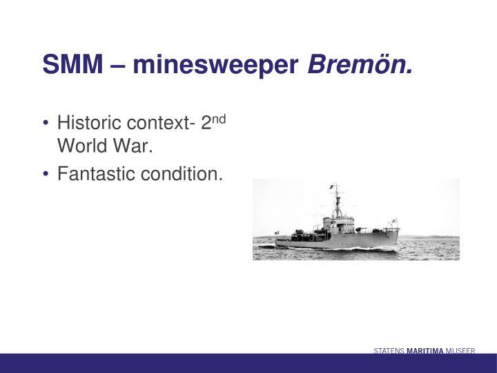 SMM – minesweeper