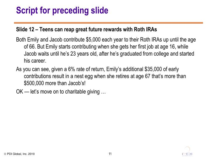 Script for preceding slide