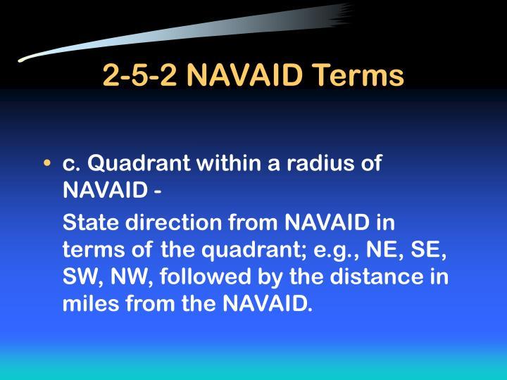 2-5-2 NAVAID Terms