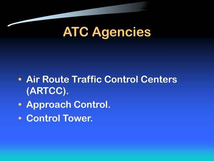 Atc agencies