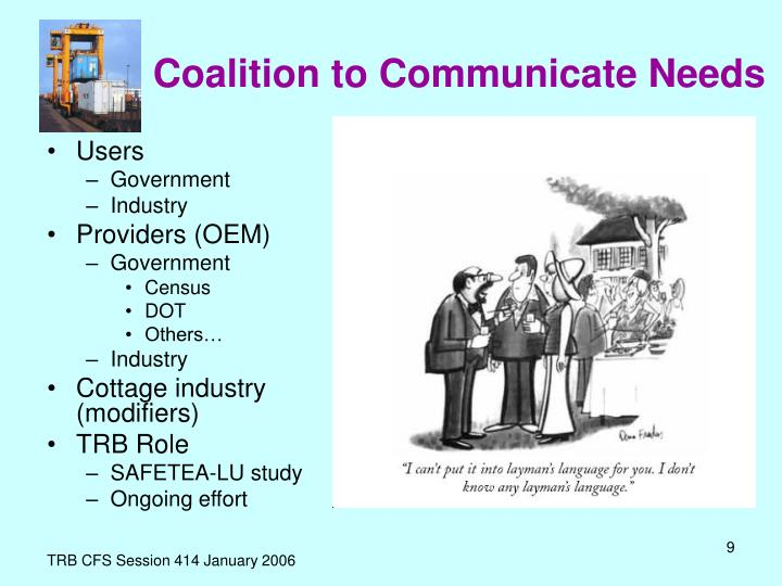 Coalition to Communicate Needs