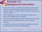 example 4 3 background i nformation