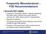 frequently misunderstood fsd recommendations2
