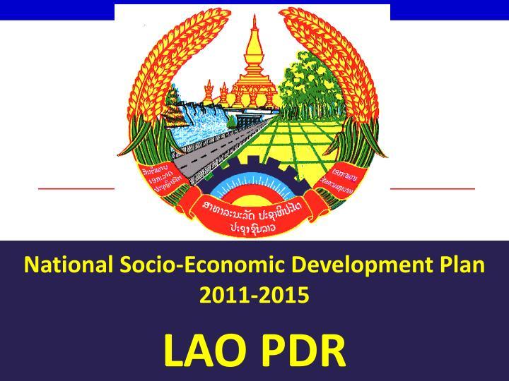 National Socio-Economic Development Plan