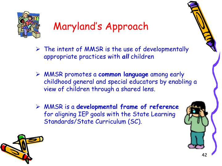 Maryland's Approach