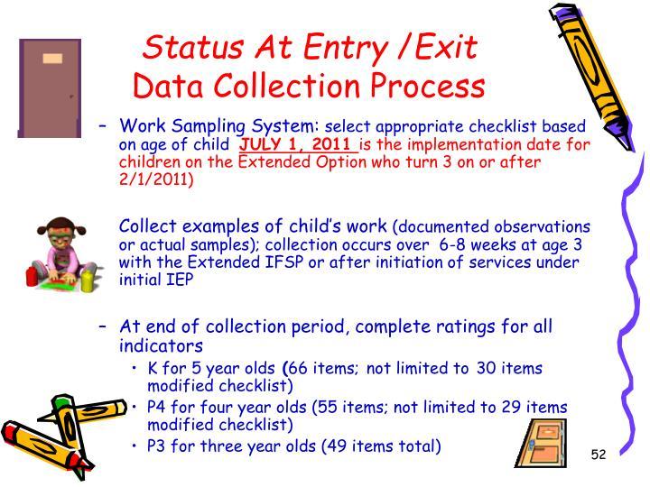 Status At Entry