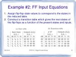 example 2 ff input equations