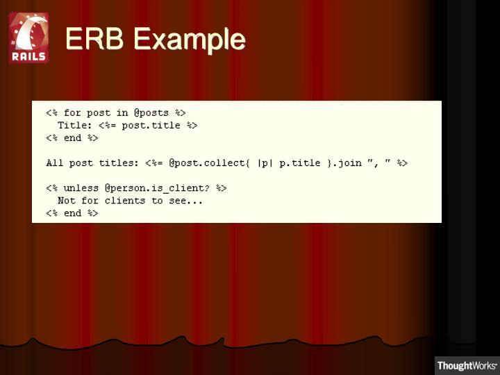 ERB Example