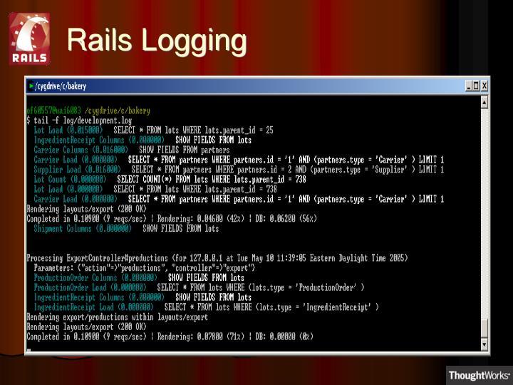 Rails Logging
