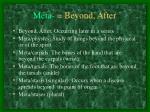 meta beyond after