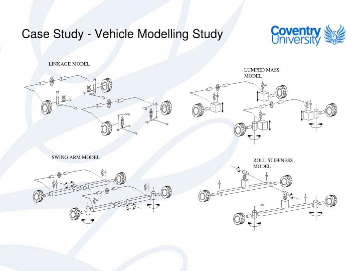 Case Study - Vehicle Modelling Study