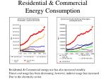 residential commercial energy consumption