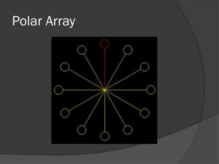 Polar Array