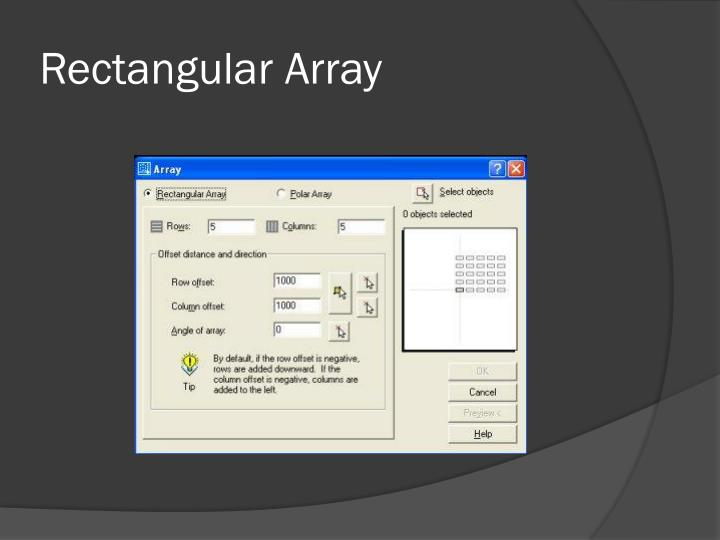 Rectangular Array