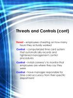 threats and controls cont1