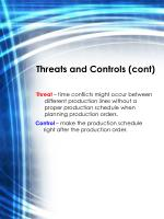 threats and controls cont2