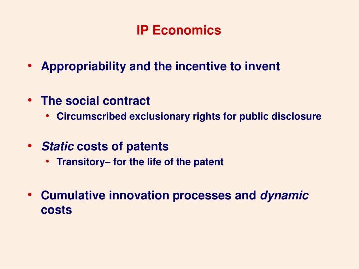 IP Economics