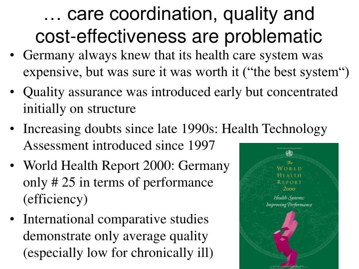 … care coordination, quality and