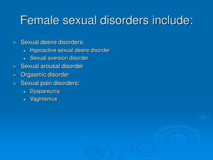 vaginismus essay A sexual dysfunction is the loss or impairment of the ordinary physical responses of sexual function there are many dysfunctions for men and women such as erectile disorder, female sexual arousal disorder, female orgasmic disorder, vaginismus, and premature ejaculation.