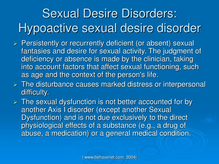 sexual dysfunction essay Sexual dysfunction student's name university affiliation sexual dysfunction in this case, several issues are presented in relation to the sexual dysfunction matter as other primary issues need analysis before the main problem is handled.