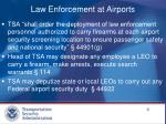 law enforcement at airports