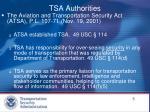 tsa authorities