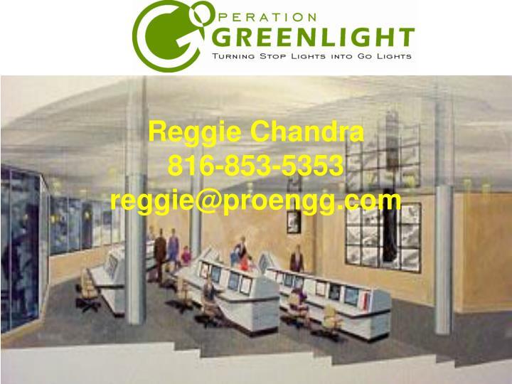 Reggie Chandra