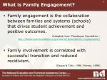 what is family engagement