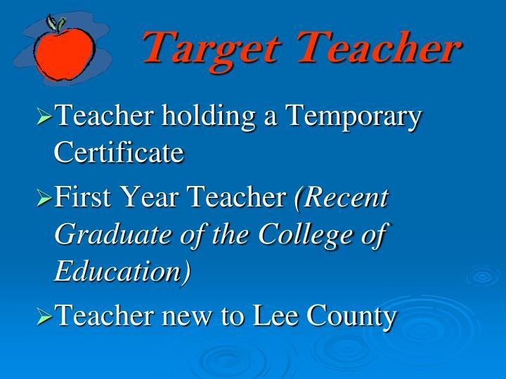 Target Teacher
