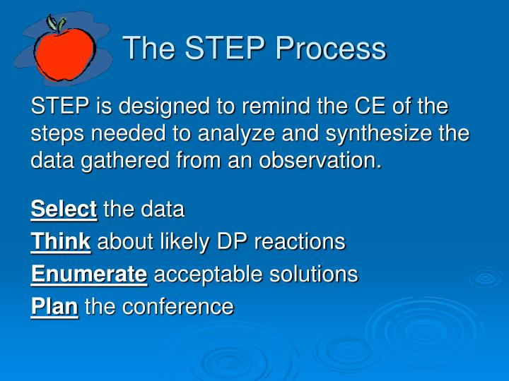 The STEP Process