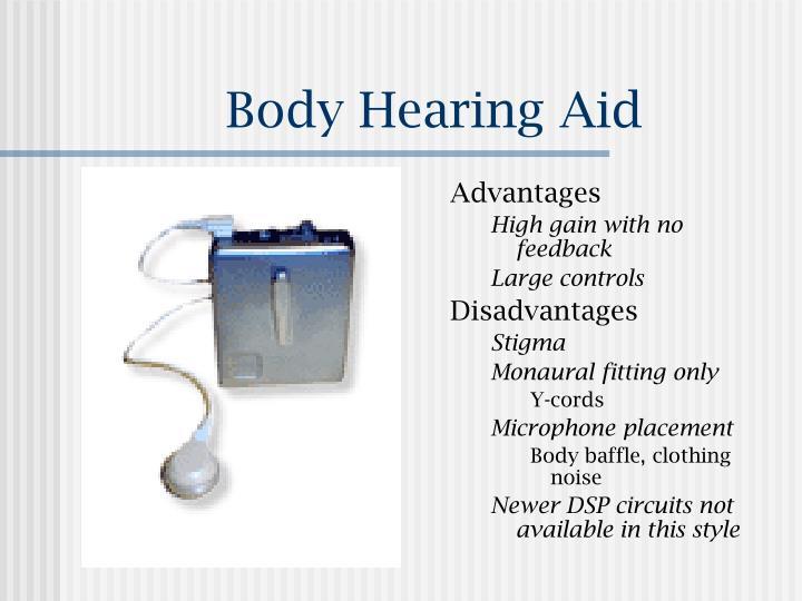 Body Hearing Aid