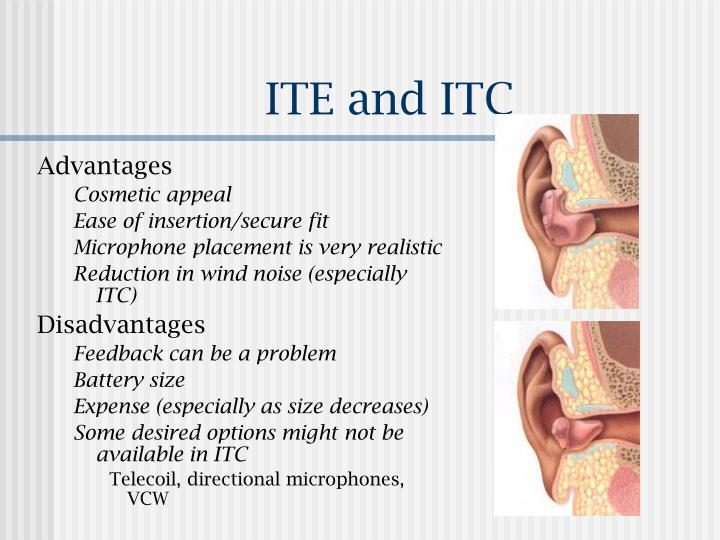 ITE and ITC