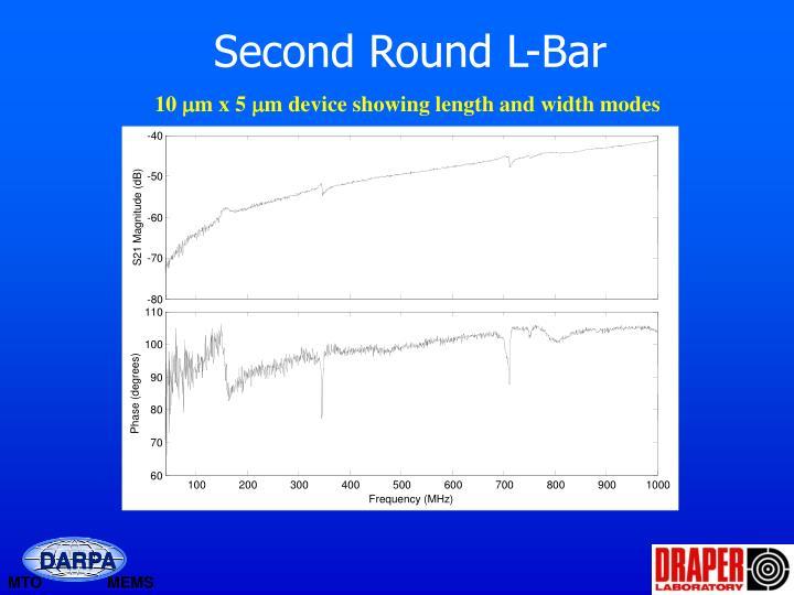 Second Round L-Bar