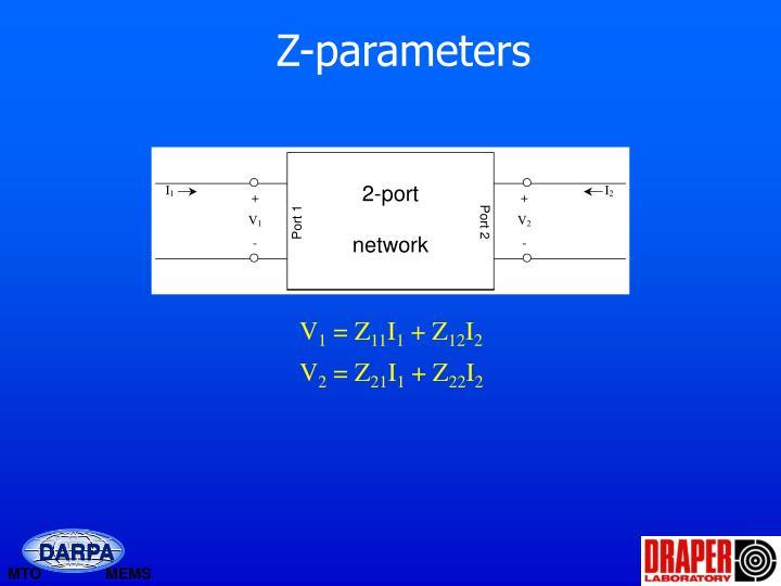 Z-parameters