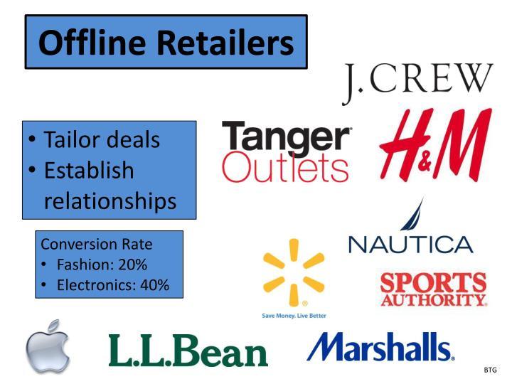Offline Retailers