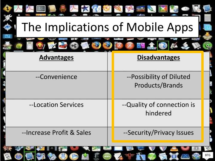 The Implications of Mobile Apps