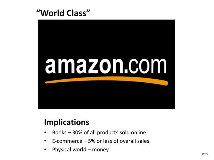 """""""World Class"""""""