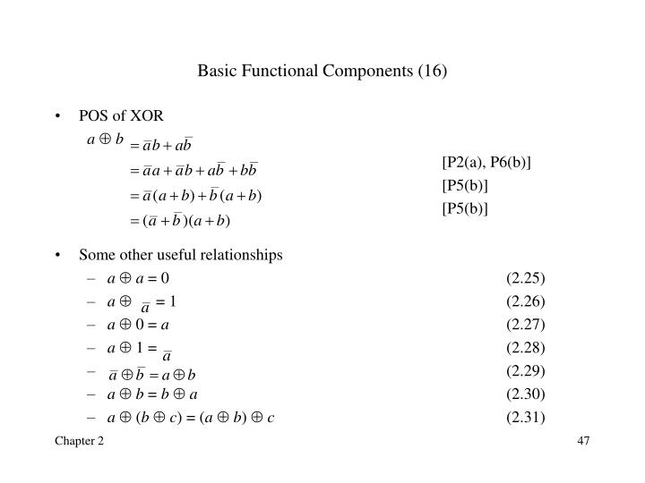 Basic Functional Components (16)
