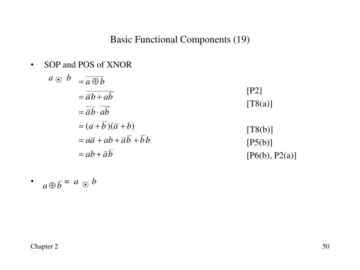 Basic Functional Components (19)