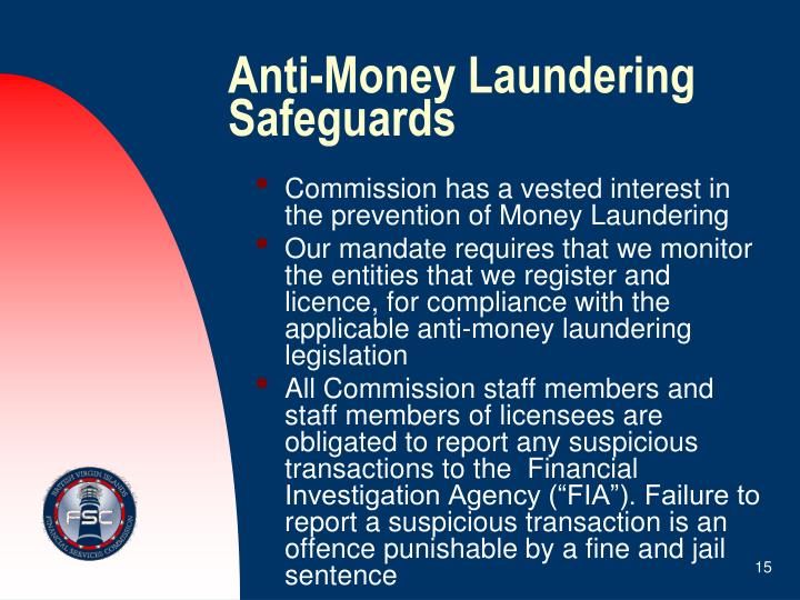 Anti-Money Laundering Safeguards
