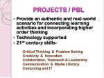 projects pbl