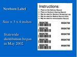 newborn label