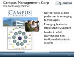 campus management corp the technology partner