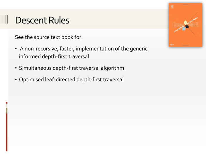 Descent Rules