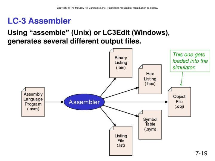 LC-3 Assembler