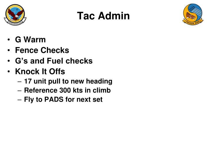 Tac Admin