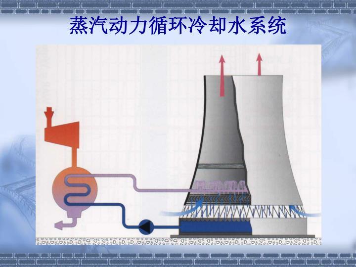 蒸汽动力循环冷却水系统
