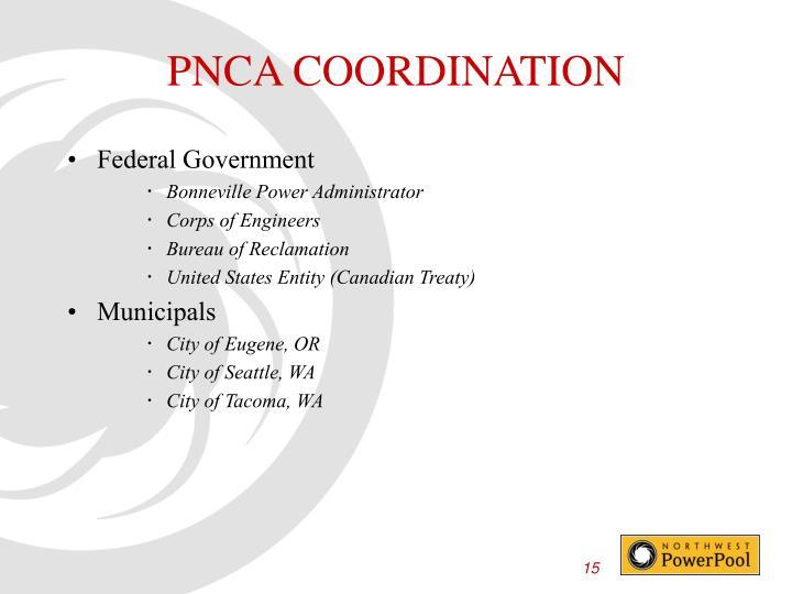 PNCA COORDINATION